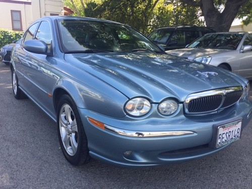 Key #55 Jaguar X Type 3.0L Sedan 4D