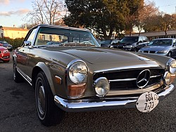 Key #133 Mercedes 280 SL