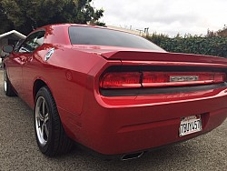 Key #9 Dodge Challenger R T Coupe 2D